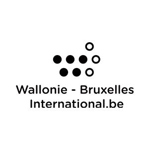 Logo Wallonie-Bruxelles International (W.B.I.)