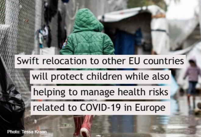 Appel a la relocalisation urgente de 1800 enfants non accompagnés pris au piege dans les iles grecques