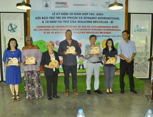 20 ans de présence de Dynamo International au Vietnam