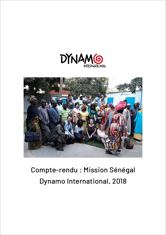 Mission Senegal Dynamo International 2018